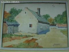 Juszkó Béla: Falusi ház