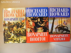 Richard Howard - BONAPARTE TRILÓGIA