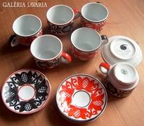Korondi festett porcelán