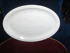 Antik porcelán pecsenyés tál-hagyatékból