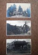 Sianki melletti hadiállások, fedezékek 1915.