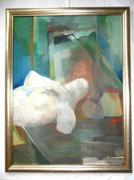 Román György (1903-1981) - Női Idomok 1964