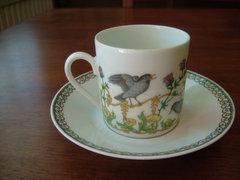 Álomszép Hutschenreuther  Ole Winther : Április csésze .