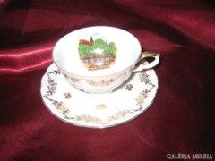 Bavaria aranyozott teás csésze & alj