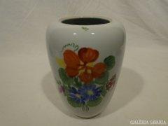 3684 Nagyméretű herendi virágos váza