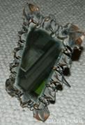 Filigram gyönyörű antik réz tükör