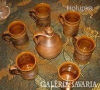 Handmade Stood Austria kerámia készlet