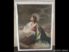 1684 T2 Jelzetlen Jézus festmény