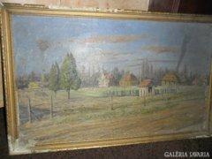 Turmayer Sándor (1879-1953) híres magyar festő, grafikus