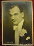 Régi szinész képeslap Willi Forst
