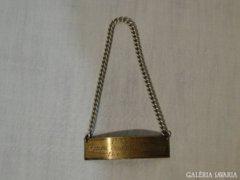 0706 Régi bridzs díj 1967 III. hely