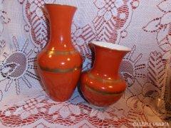 Unterweissbach porcelán vázapár