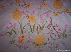 80 x 76 cm húsvéti terítő KE