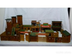 7569 Retro fa vár erődítmény western város