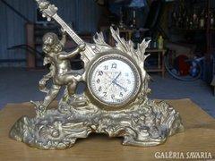 Sárgaréz kandaló óra (19cm) Alkudható!