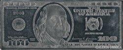 SZÍNEZÜST 100 dollár bankjegyveret 2003