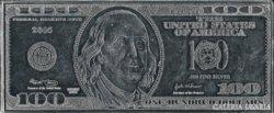 SZÍNEZÜST 100 dollár bankjegyveret 2005