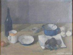 Bartl József : Asztali csendélet