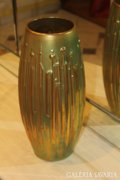 Zsolnay eozin mázas váza (Török János), hatalmas