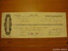 *** 1935-ös váltó 600 aranypengő értékben ***