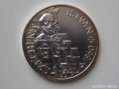 1991 BU Széchenyi István ezüst 500 forint UNC 553