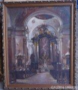 Klammer Mariska (1877- ?): Az Országúti Ferences templom