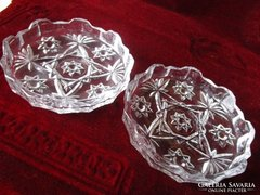 Páros dekoratív üveg kináló vagy üveg betét