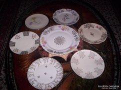 Antik süteményes készlet, 7 db-os