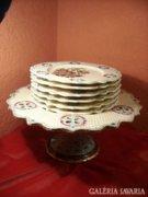 Kerámia süteményes készlet, Schütz Cilli