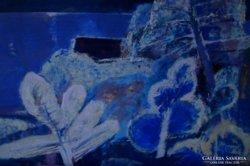 Balogh Ervin Képcsarnokos festő Balatonpart című képe