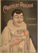 Chocolat Poulain poster reprodukció.