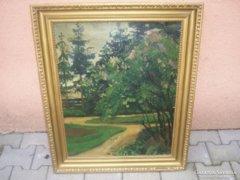 Say Géza festménye