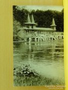 0A921 Régi képeslap Hévíz gyógyfürdő strand