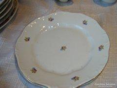 Zsolnay lapos tányér  2darab