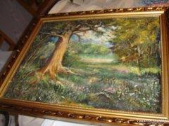 Tájkép festmény 40és 50 cm