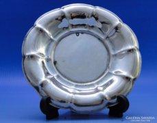 0B357 Ezüst asztali hamutál