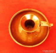 Réz gyertyatartó - antik