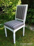 Louis barokk szék, felújított