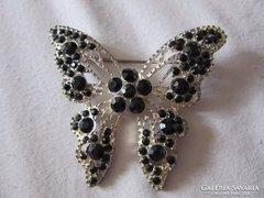 Nagy köves pillangó bross eladó
