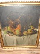 Murin Vilmos Csendélet olaj vászon festmény