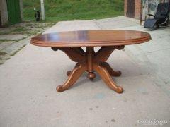 Étkezőasztal, tárgyaló asztal eladó!Ovális, masszív, nehéz!