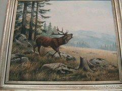 Gyönyörű régi festmény