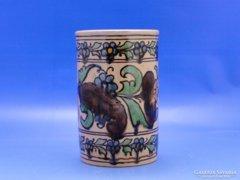 0C472 Régi Badár Balázs mezőtúri kerámia váza