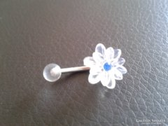 Egyedi, virág formájú piercing eladó