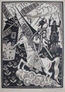 Büky Béla: Don Quijote-Lovasok