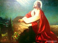 Kertész - Jézus az olajfák hegyén