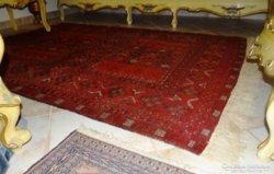 Afgán antik szőnyeg kézi csomózású