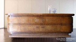 KOZMA ART DECO tálaló szekrény az 1930-as évekből