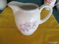 Te1 Virág mintás tejszín kiöntő