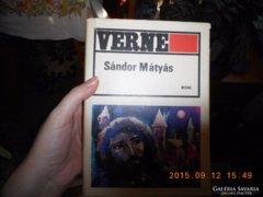 Eladó Verne:Sándor Mátyás című könyv
